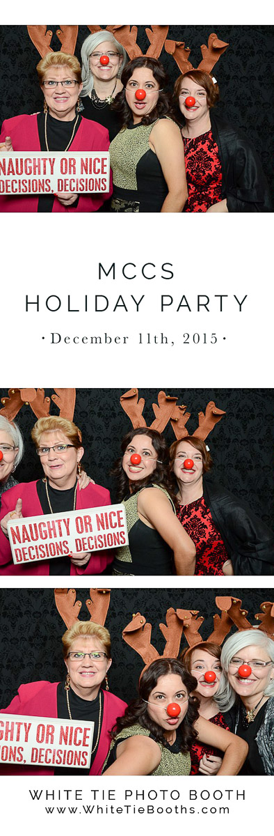 MCCS Photo Booth pictures Holiday Party