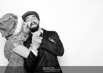 Jahaira and Jerry's Wedding photo booth at Julieanna's Patio Cafe